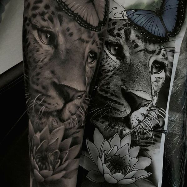 Unteram Tattoo Lippenstift & Mascara