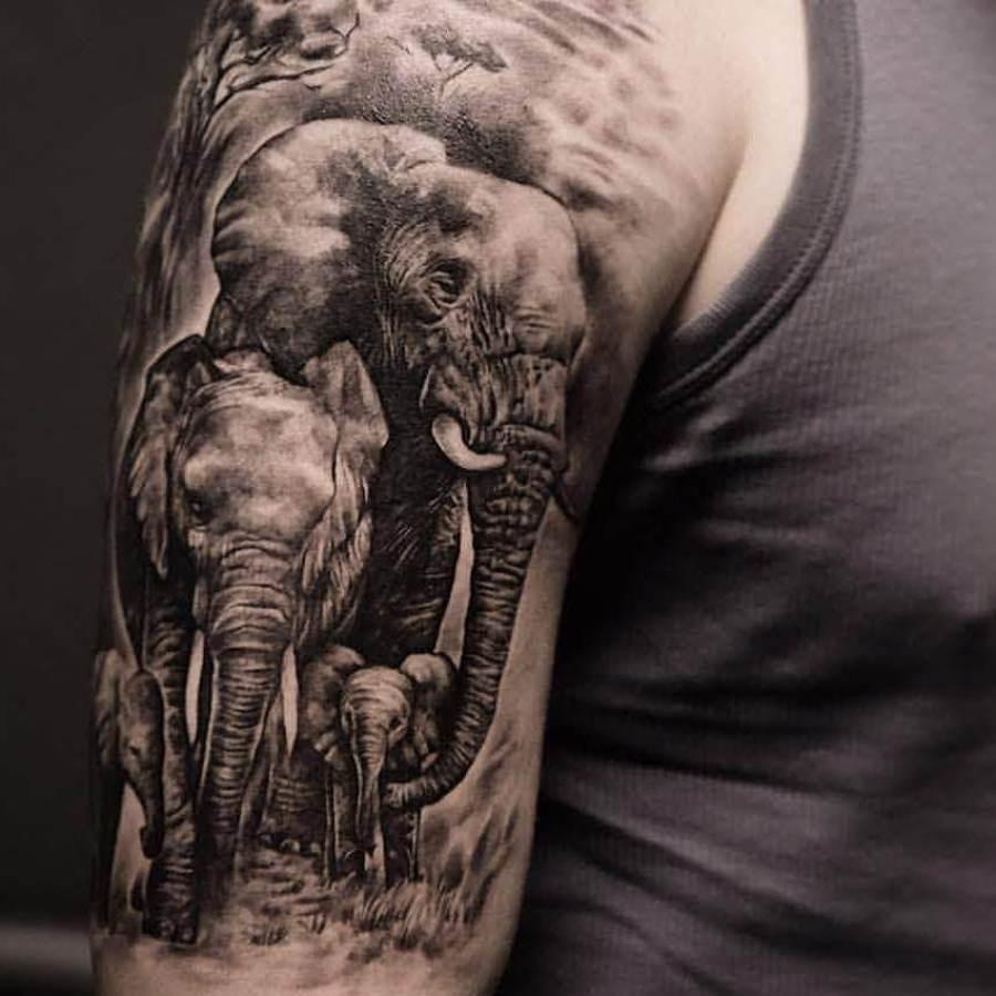 Tattoo Unteram Puma