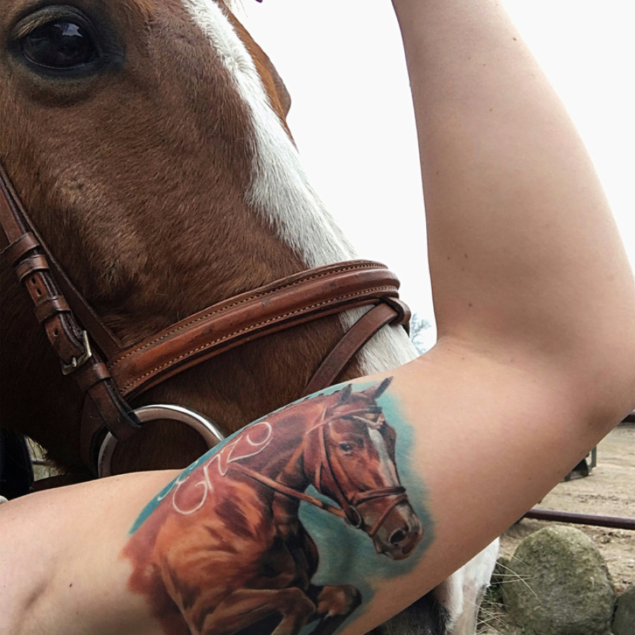 Tattoo Rücken Bär