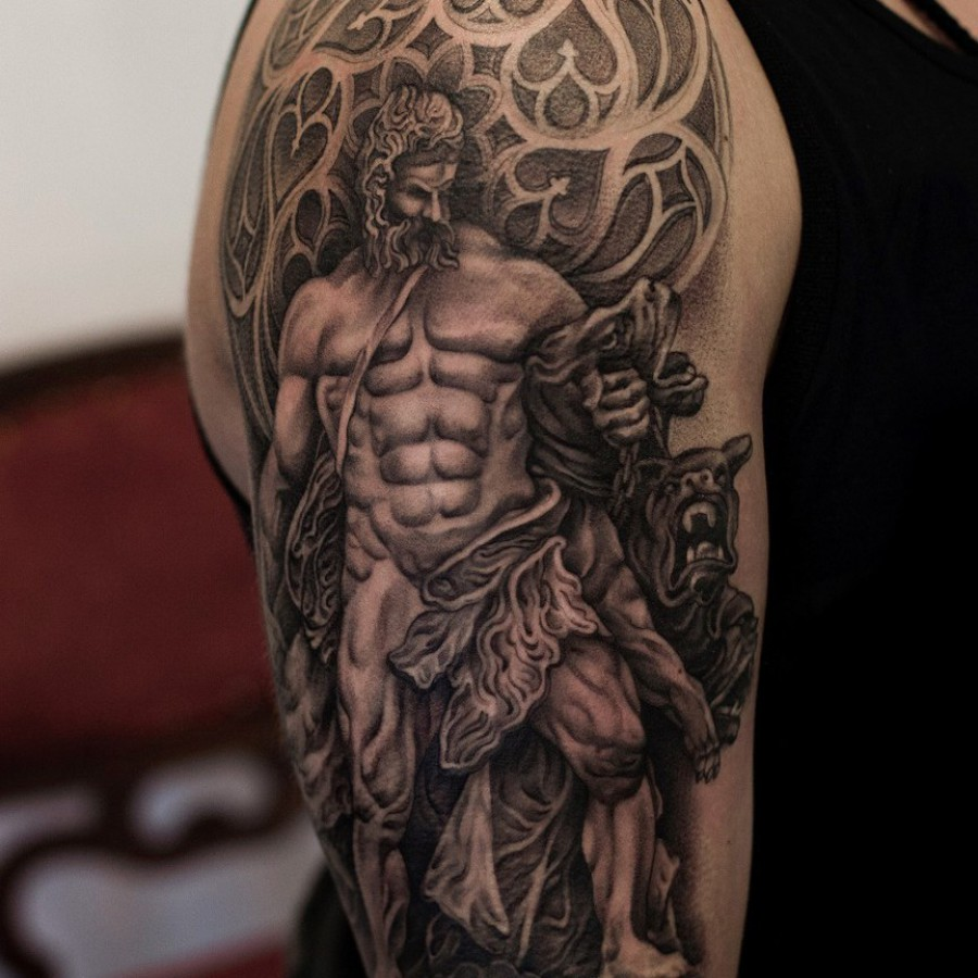 Tattoo Unterarm griech. Mythologie