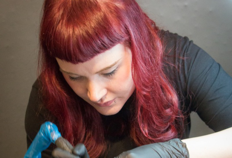 Tattoo Artist Anne