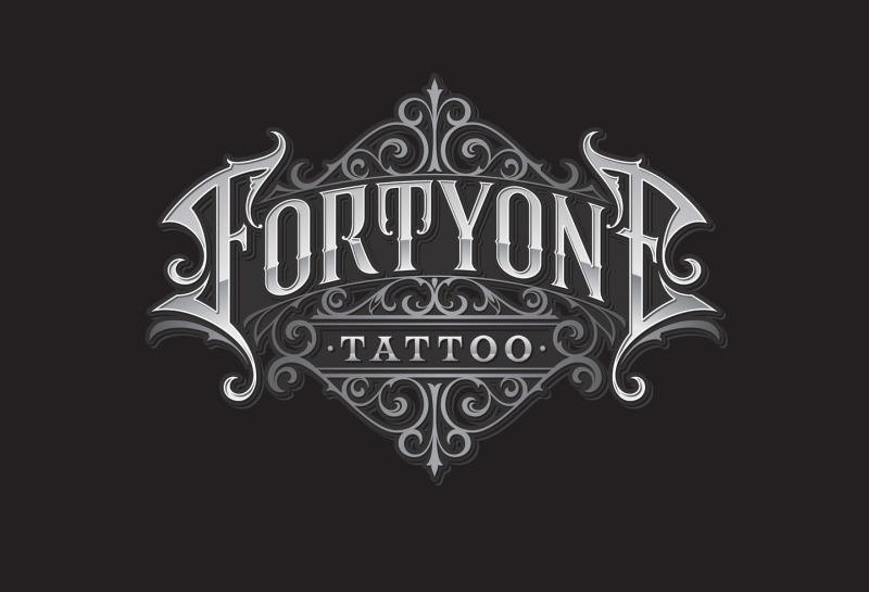 Visitenkarten forty-one Tattoo