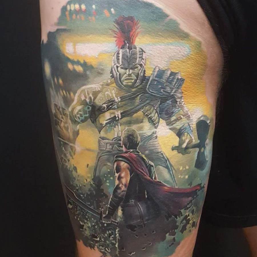 Tattoo Unterarm Alice im Wunderland