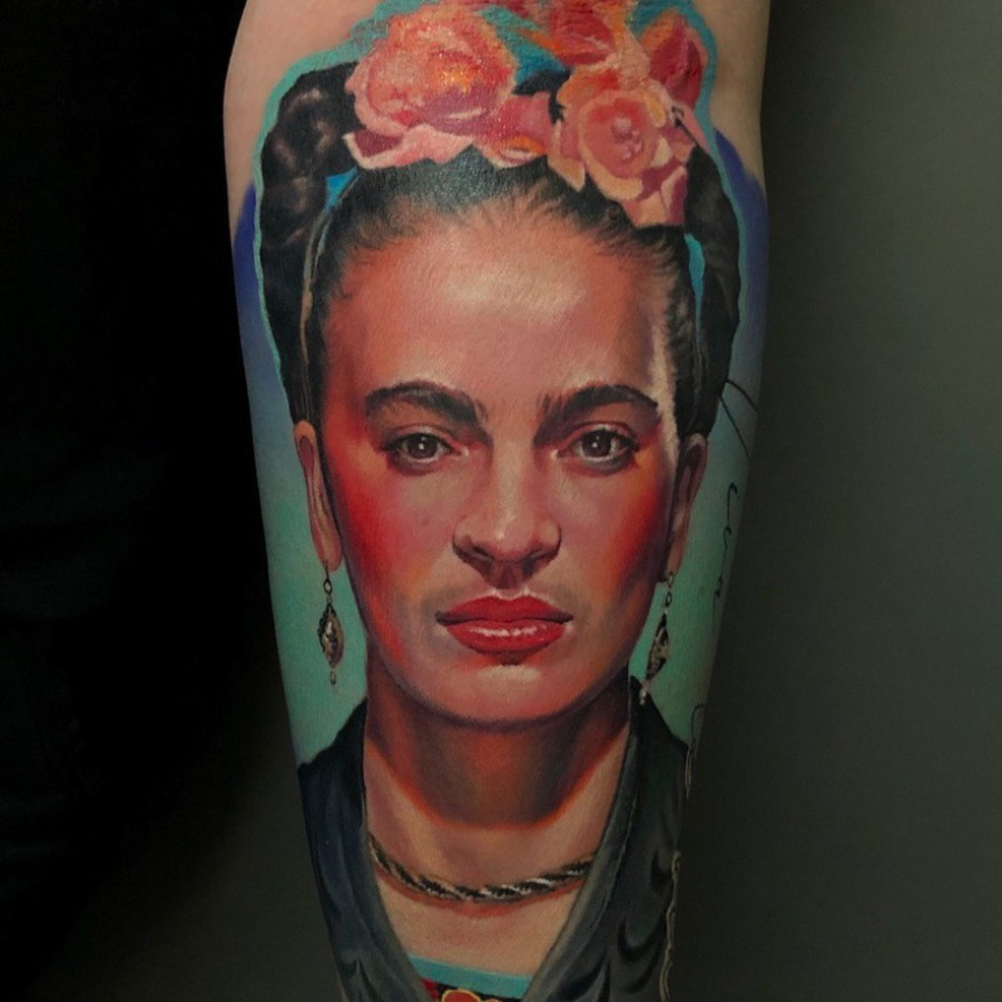 Tattoo Wade Adlerkopf