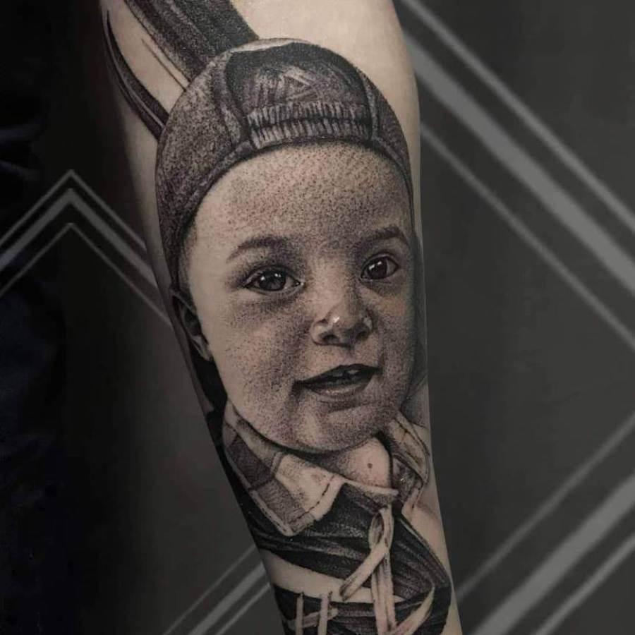 Tattoo Unterarm Krake