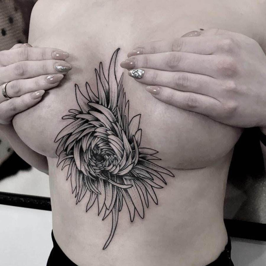 Tattoo Leuchtturm Unterarm