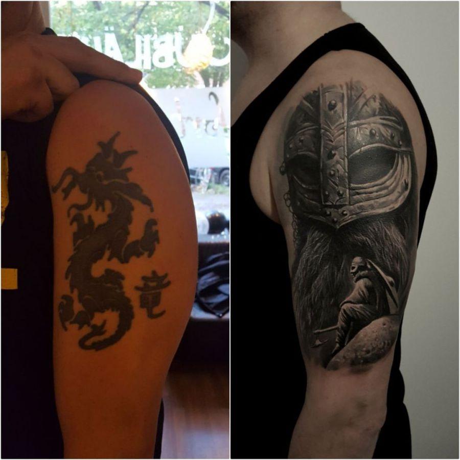 Entzückend Feder Tattoo Unterarm Sammlung Von Kompass Mit