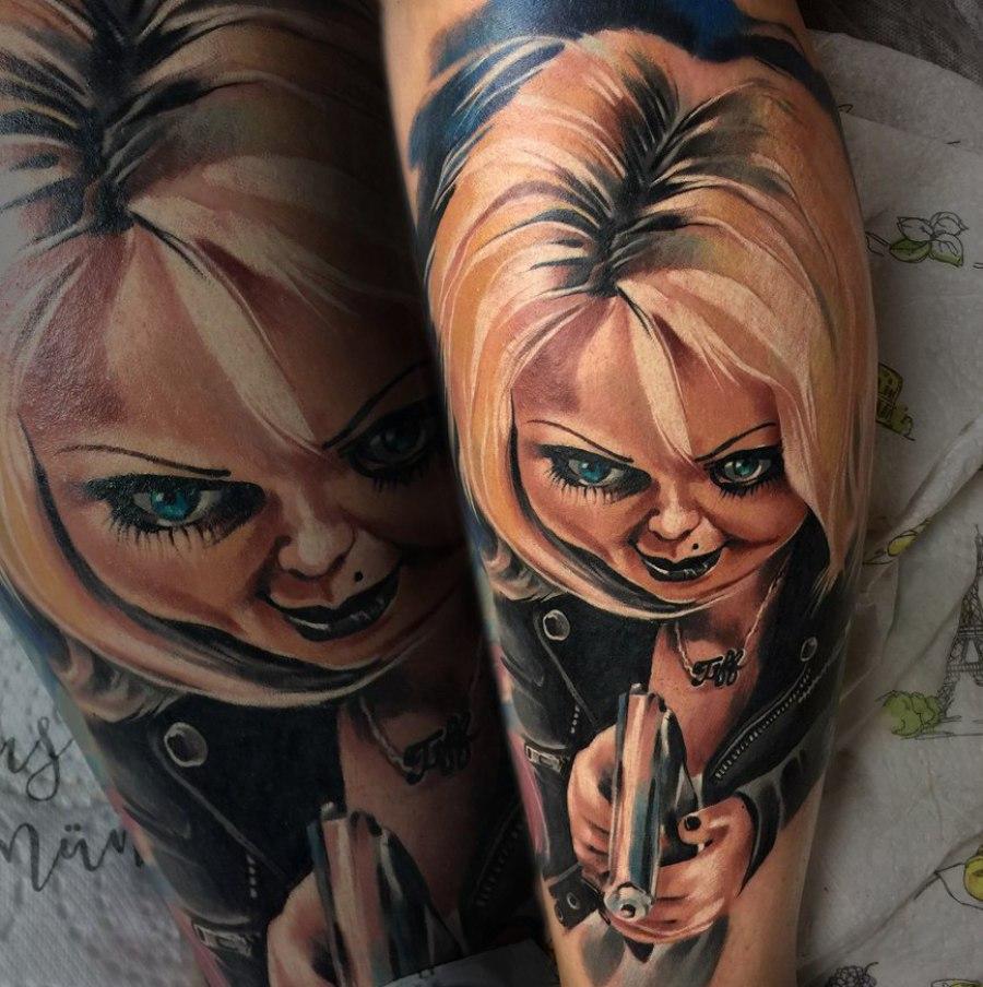 Tattoo Wade Hamburg illustrativ
