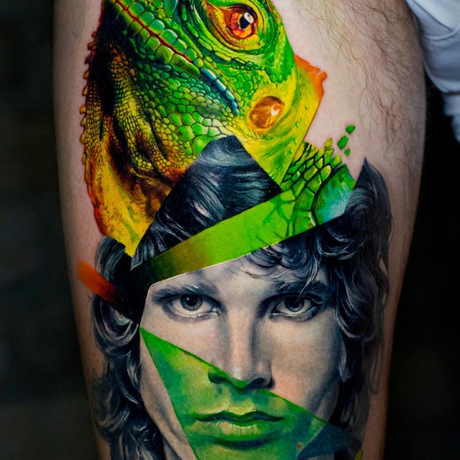 Tattoo Wade Welle Dotwork