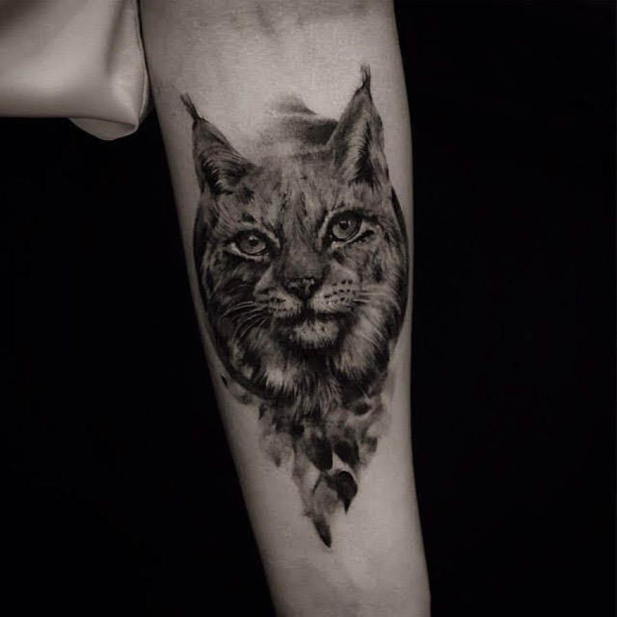 Tattoo Wade  Portrait Affe King Kong